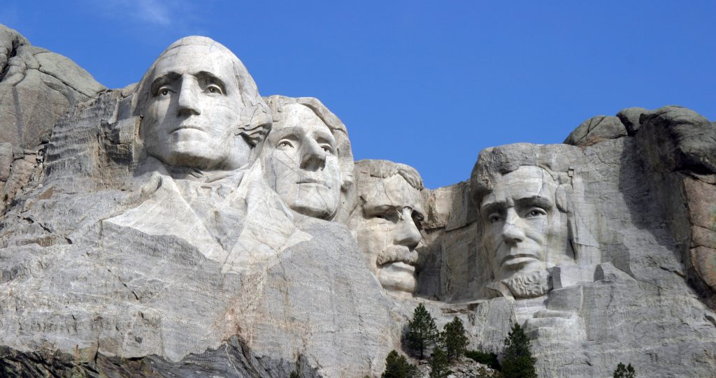 Picture of Mount Rushmore, by Dean Frankling, CC-By-SA